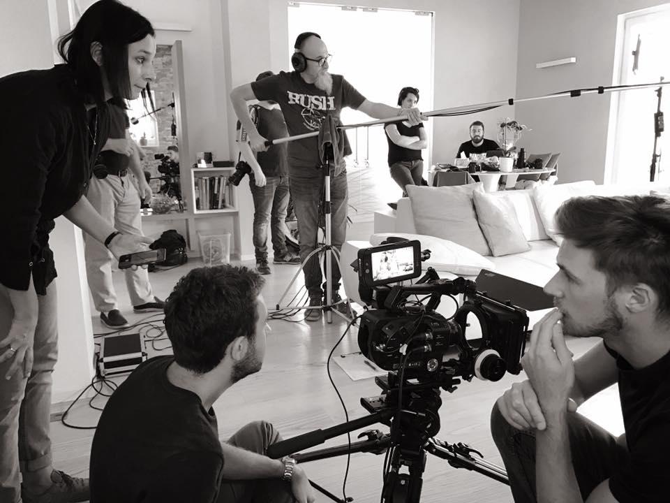 backstage produzione video spot